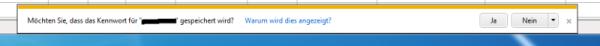 Internet Explorer Kennwort speichern