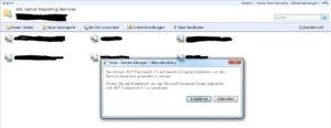 Berichts-Generator in den SQL Server Reporting Services