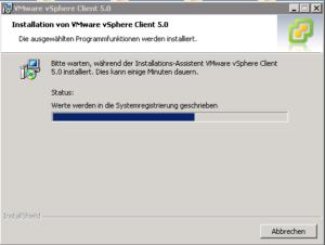 VMware vSphere Client Installation