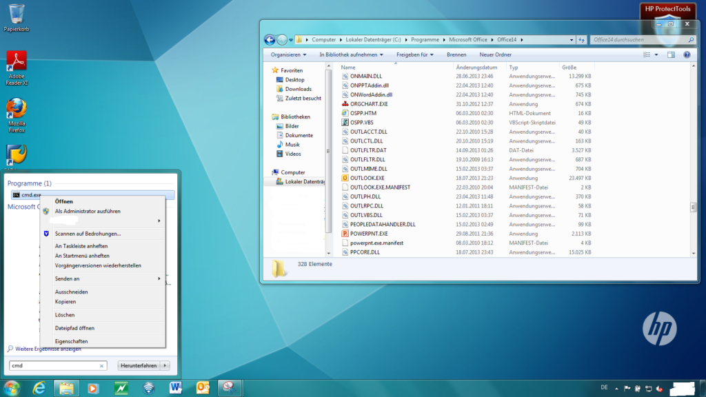Windows Konsole Öffnen