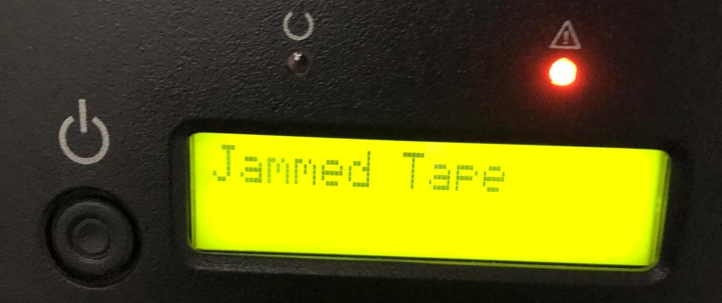 Fehlermeldung Jammed Tape beim Quantum Super Loader 3