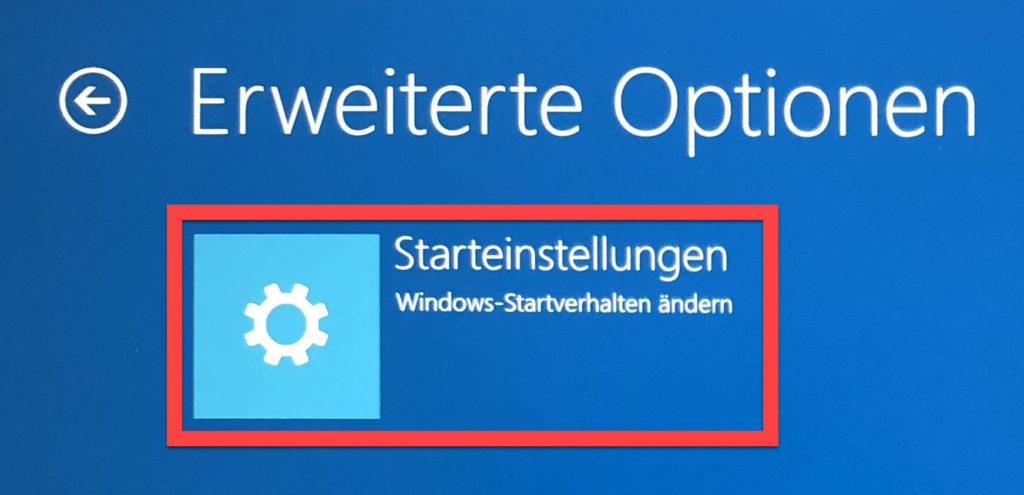 Windows-Startverhalten ändern